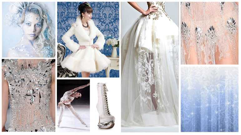 Fairest on Ice Concept Mood Board