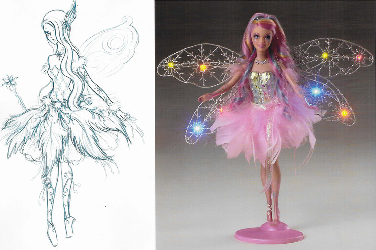 Feature Fairy Doll Concept