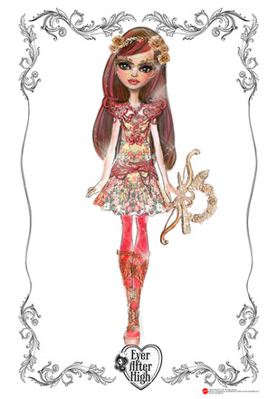 Ever After High Ashlynn Rosabella Club Doll