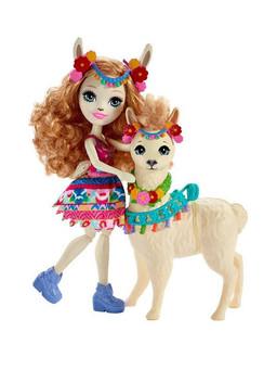 Enchantimals Lluella Llama Doll & Fleecy Figure