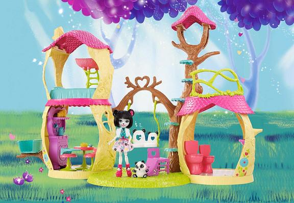 Enchantimals Playhouse Panda Set