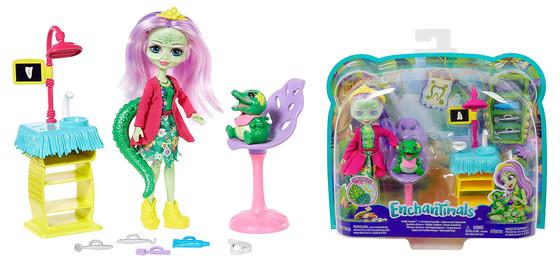 Enchantimals Smilin' Dentist & Andie Alligator Doll
