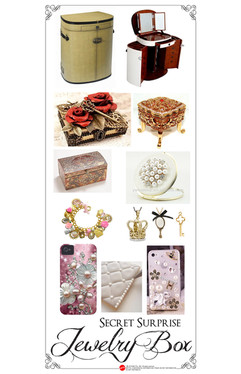 Jewelry Box to Vanity Concpet Moodboard
