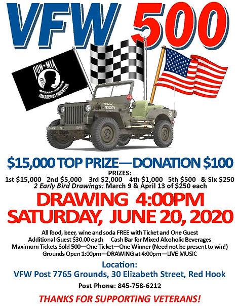 2019-20 VFW 500 Drawing POSTER artwork.j