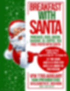 VFW Aux Breakfast With Santa Poster - Ma