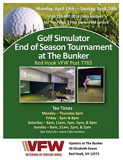 2021 VFW Golf Sims Tournament flyer_Page