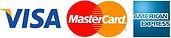 Visa MasterCard & American Express Accepted