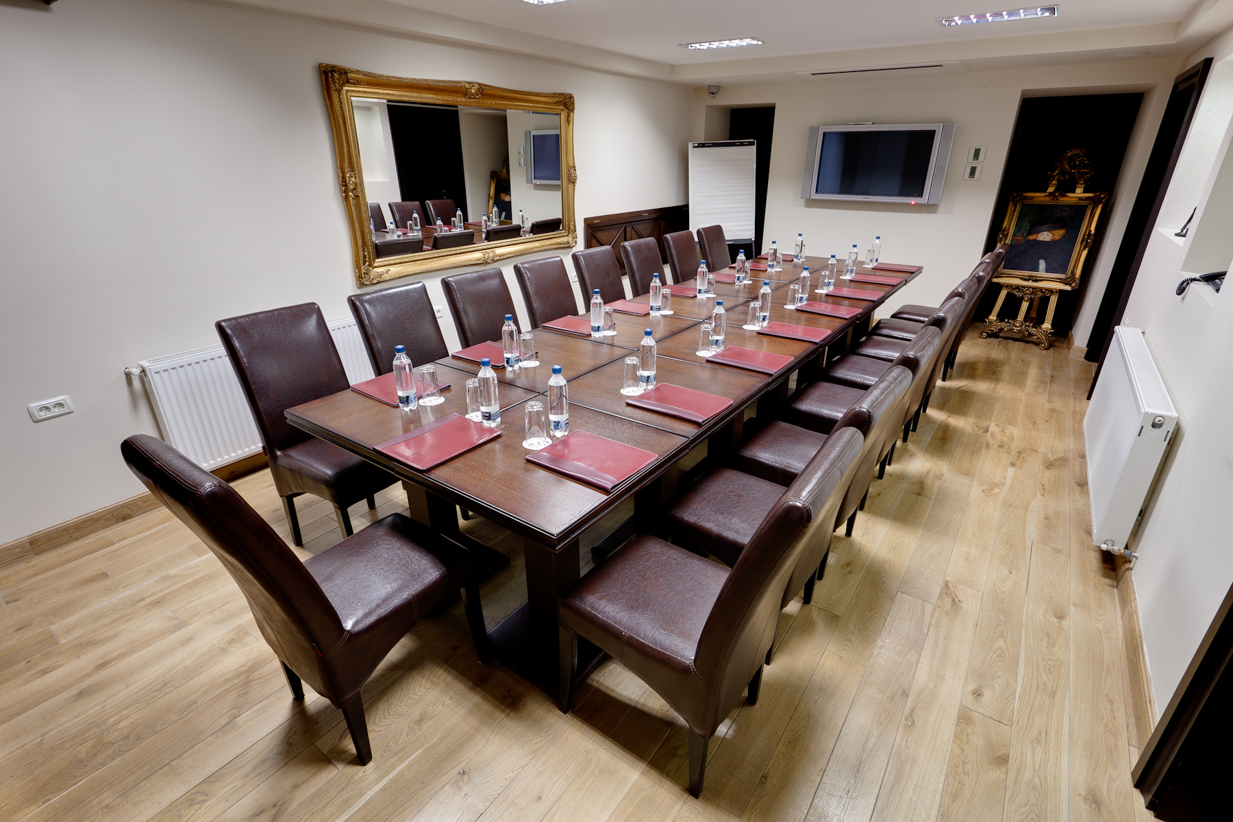Alpha Boardroom Set Up