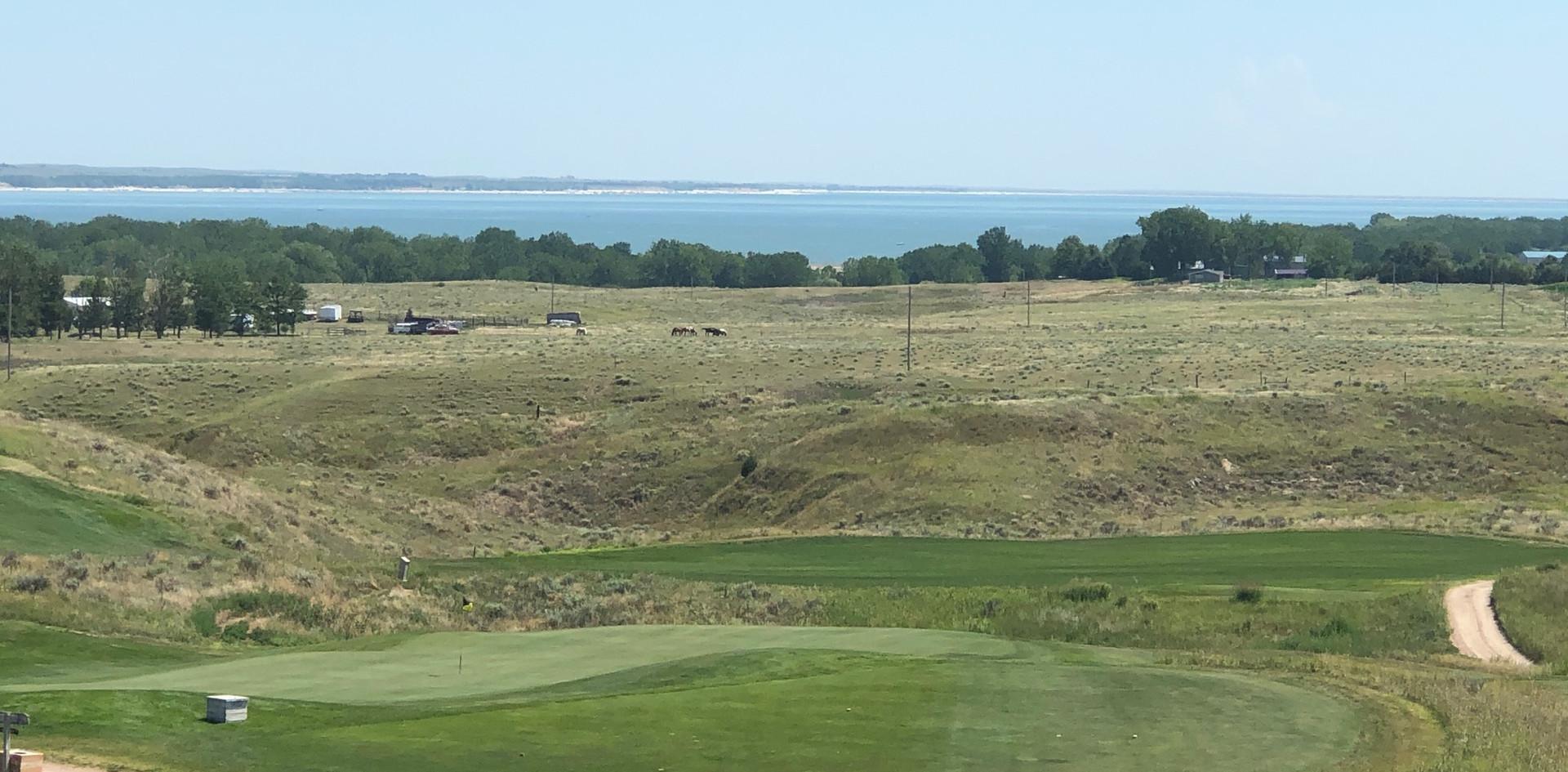 Golf Course & Lake Views