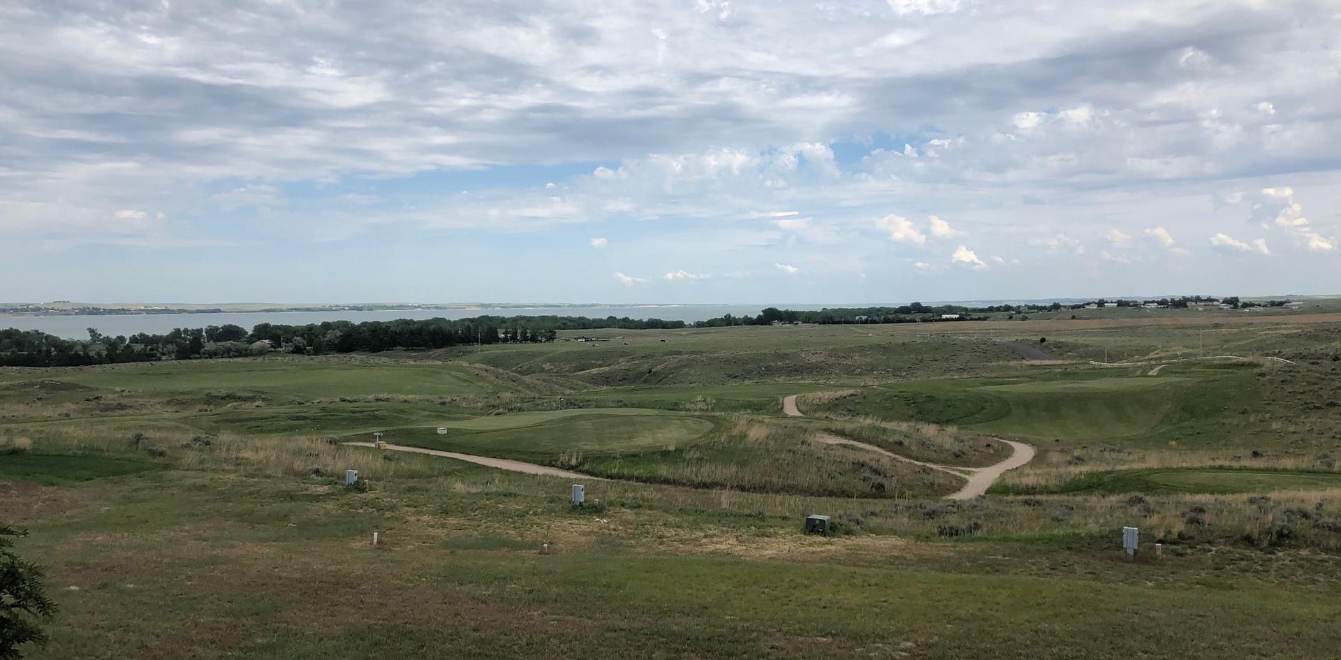 Golf and Lake views