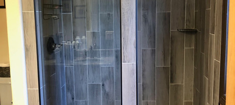 Custom Built Shower