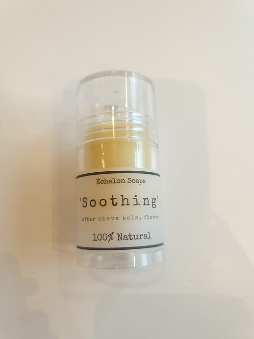 'soothing' after shave balm