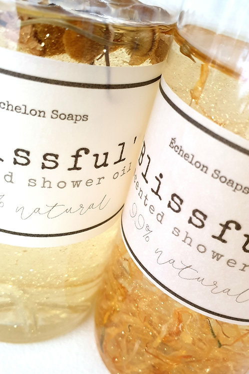 'Blissful scented shower oil' navulling