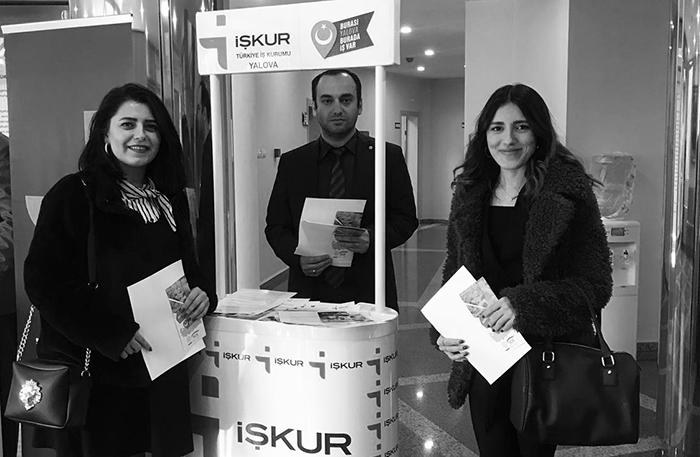 İstihadam toplantısına, firmamızı temsilen Gizem Çil ve Büşra Dursun katıldı.