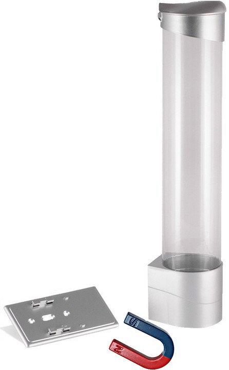 Стаканодержатель на магните серебро