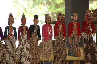 See Javanese Puppets at  WAYANG MUSEUM  (LSI Jakarta City Tours)
