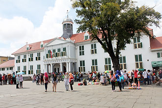 THINGS TO DO IN JAKARTA Museum Fatahillah with LSI Tours.