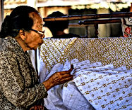 Jakarta Things To Do : Batik Making with LSI TOURS.