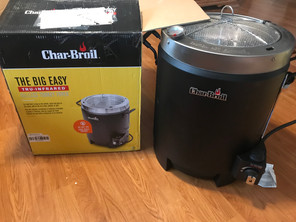 New!! Char-Broil The Big Easy oil-less fryer
