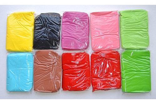 Мастика (сахарное тесто) бел, гол, зел, крас, жёлт, чёрный