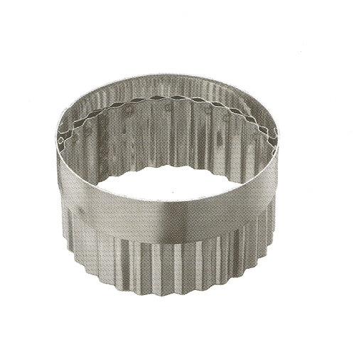 Высечка д/песочного кольца гофр. 120*50