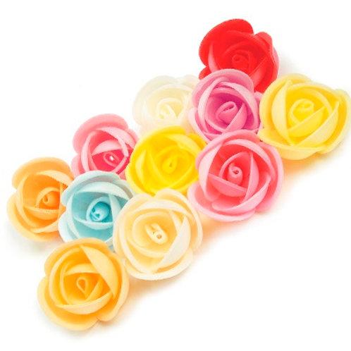 Вафельные цветы: пион 160шт