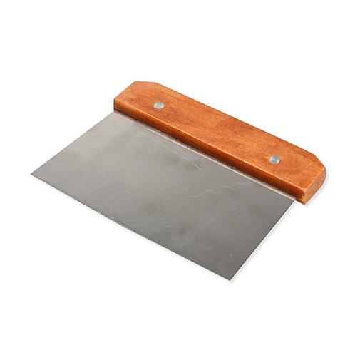 Скребок металл.с деревянной ручкой 15*11 см