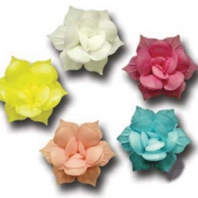 Вафельные цветы: нарциссы махровые 70шт