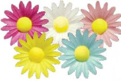 Вафельные цветы: маргаритки 200шт