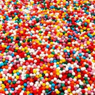 Шарики разноцв, вермишель разноцветная