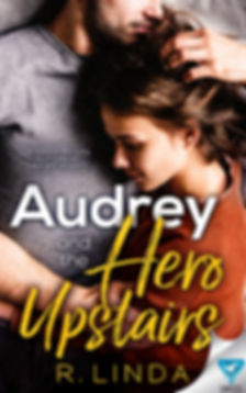 Audrey and the Hero Upstairs FRONT PAPER