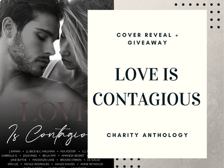 Love is Contagious Cover Reveal & Giveaway