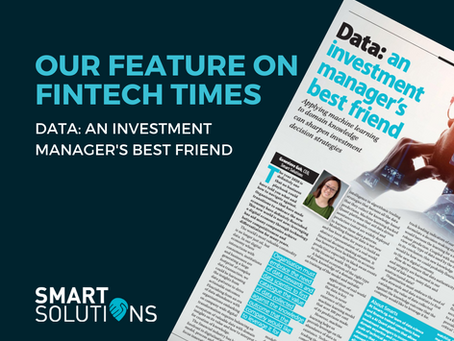 Fintech Times Feature: Genevieve Goh's Take On Data And Its Importance For Investment Managers!