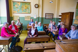 Husum Quilters and Forest Quilters visit