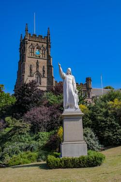 Baxter Statue