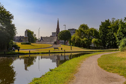 The Town from the Canal