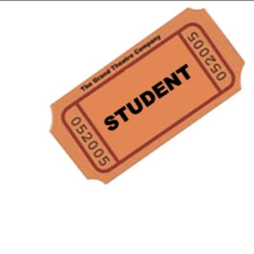 Student tickets for Henrietta Pettijohn Event