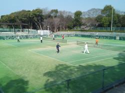 2019団体戦 0407明石公園01 撮影:明石市テニス協会