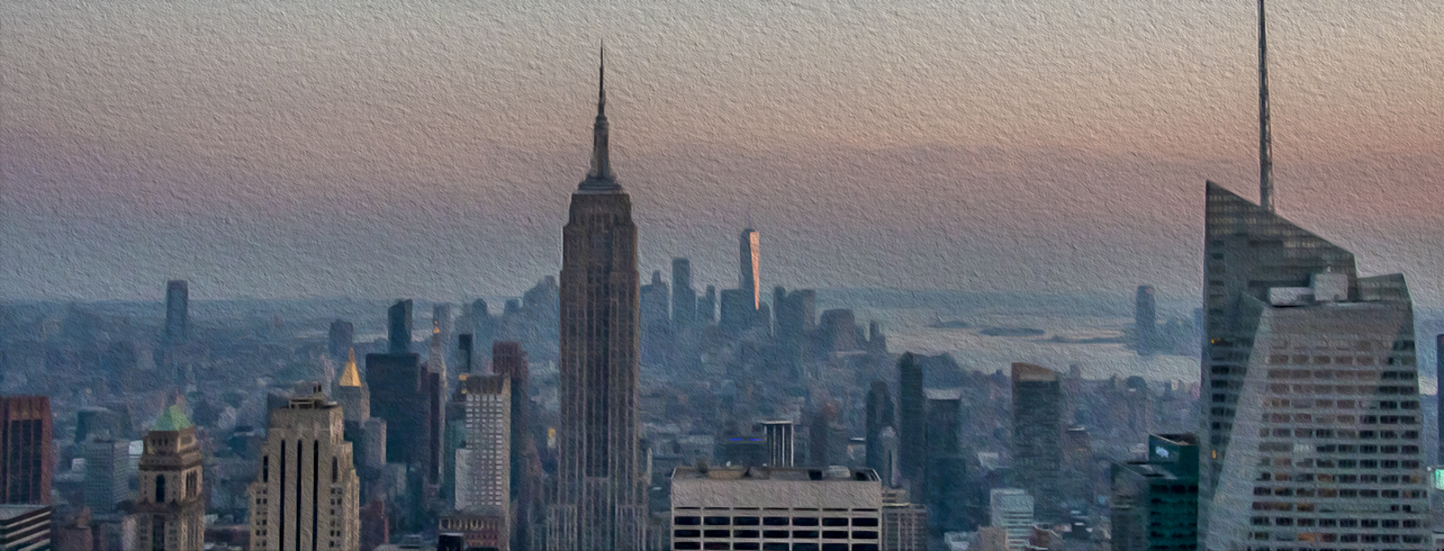 Empire State Sunset