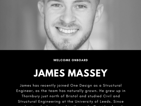 Welcome onboard James