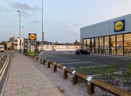 Lidl - Cheltenham town centre store...
