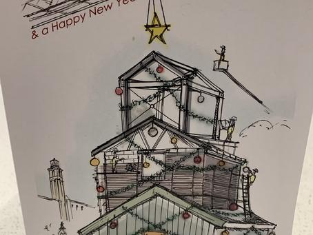 Happy Christmas, winning card...