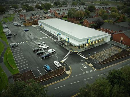 New retail store - Lidl Blackburn opens...