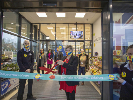 Lidl Brownhill Way Opening...