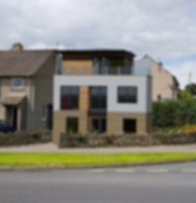 Contemporary house design in Embsay