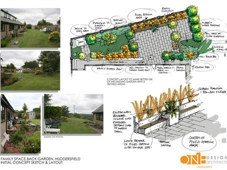 Small Back Garden Concept