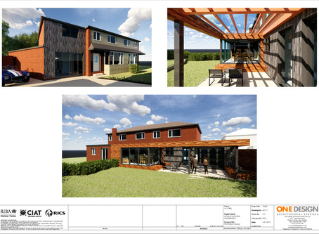 Stunning garden room wins Planning permission and Building Regulations approval