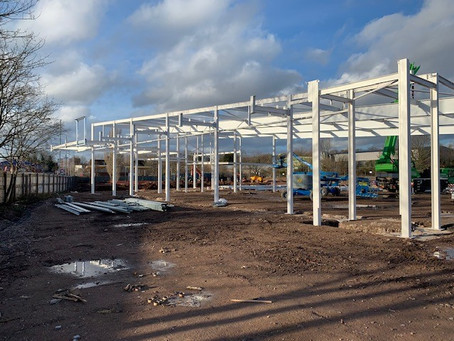 Lidl Hamstead Out Of The Ground...