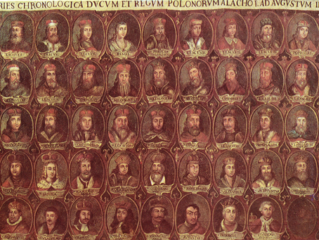 Ancient Poland: Pre-Christian, ancient Polish Kings on the picture on Jasna Góra Monastery