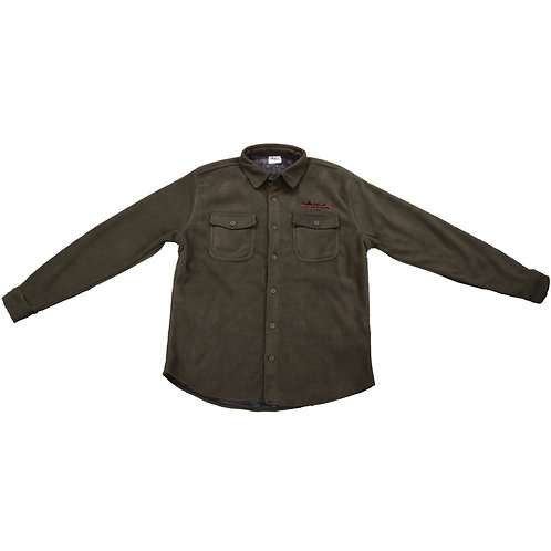 Army green logo shirt